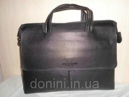 Сумка-портфель мужская Armani, кожа, Италия - фото 1