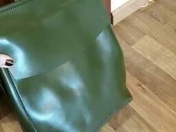 Сумка-рюкзак трансформер купить украина натуральная кожа