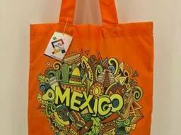 Сумка шопер Mexico 40x35 см ручка 60 см (1 шт)