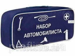 """Сумка тех. помощи """"Набор автомобилиста"""" (синяя) 46*20*14см. .."""