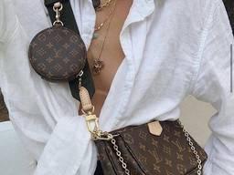 Женская сумка копия Louis Vuitton луи Витон три в одном Люкс