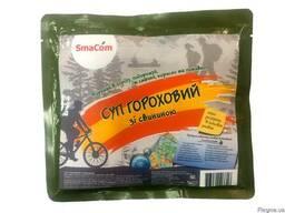 Суп гороховый со свининой в реторт-пакете ТМ SmaCom