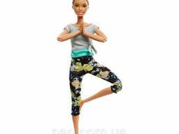Супергибкая кукла Барби йога, Афроамериканка - Barbie Made To Move