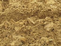 Супесь песчаная для высыпки участка и засыпки фундамента