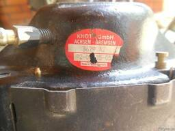 Суппорт тормозной с колодками в сборе knott, textar