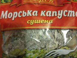 Сушенная Ламинария Морская Капуста 60 грамм упаковка