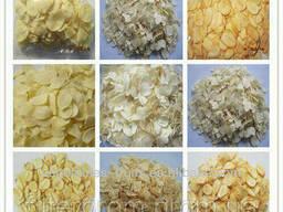 Сушеный чеснок, хлопья, гранулы, порошок