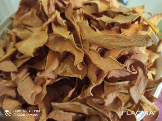 Сушеные чипсы тыква