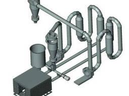 Сушилка аэродинамическая для сушения опилок до 1500кг/час