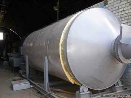 Сушилка барабанная с теплогенератором на твердом топливе