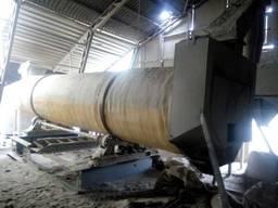 Сушильный барабан 1.6/8 для сыпучих строительных материалов