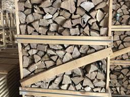 Сушка дров колотых