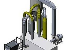 Сушка опилок и разных материалов аэродинамическая 500 кг/час