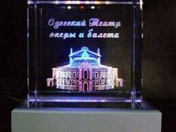 Оперный театр в стекле с подсветкой