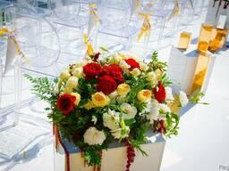 Оформление на свадьбу, свадебный декор