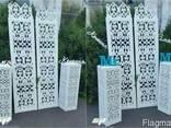 Свадебные аксессуары, свадебный декор из пенопласта - фото 2