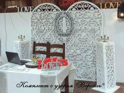 Свадебные арки, ширмы, столики, колоны/тумбы/подставки/стойк