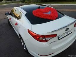 Свадебные украшения, свадебное украшение для авто на свадьбу