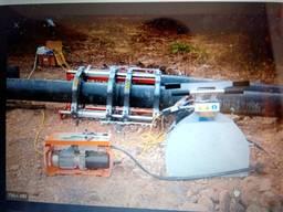 Сварка полиэтиленовых труб. Монтаж водопроводных и канализационных сетей.