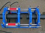 Сварка полиэтиленовых труб стыковым аппаратом - фото 1