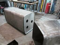 Сварка, ремонт алюминиевых бензобаков, топливных баков.