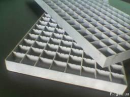 Сварной решетчатый настил, максимальный размер 1500х1500 мм