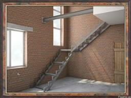 Сварные лестницы входные, наружные, междуэтажные, межэтажные