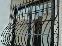 Сварные металлические решетки на окна.