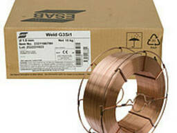 Сварочная проволока омедненная Weld G3Si1 1.2 mm 15 kg