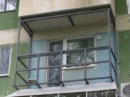 Сварочные Работы Сварной Балкон