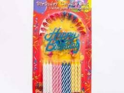 Свечи для торта. Артикул F12 (свечи оптом)