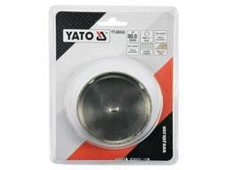 Свердло по гресу і кераміці YATO 80 мм при сухому і мокрому режимах