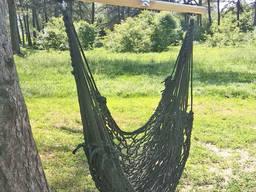 Сверхпрочное! Кресло гамак плетенное сетка