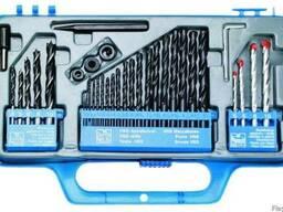 Сверла разные (металл/бетон/дерево), набор 34 шт. Top Tools