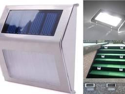 Светильник фонарь на солнечной батарее 3LED с датчиком освешенности