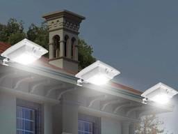 Светильник фонарь на солнечной батарее 6 LED «НЛО»