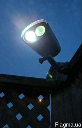Светильник фонарь на солнечной батарее с датчиком движения
