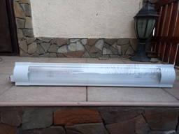Светильник люминесцентный 1*18 IP20 с электронным ЭПРА плафо
