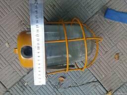 Светильник НСП 09-200 жёлтый
