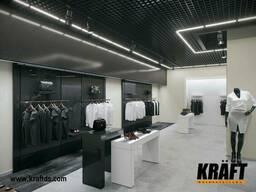 Светильники для подвесных потолков грильято Kraft LED-G-24 600 мм, 29 Вт - 2 шт