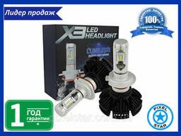 Светодиодная автолампа X3 H3 для фар LED (2шт)