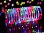 Светодиодная гирлянда на солнечной энергии Спираль RGB - фото 2