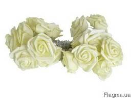 Светодиодная гирлянда Желтые Розы 2м 20LED 220В