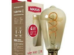 Лампа Эдисона ST64 Led Филаментная лампа арт деко ST64 4W...