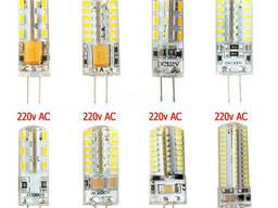 Светодиодная Led лампа G4 12V 220V
