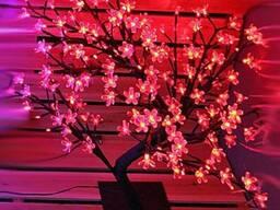 Светодиодное дерево сакура купить, светодиодные гирлянды