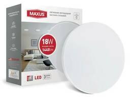 LED светильник Maxus накладной 18W яркий свет
