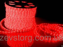 Светодиодный дюралайт LED-2W-100-240V (36 св. /м, АС 220 В,