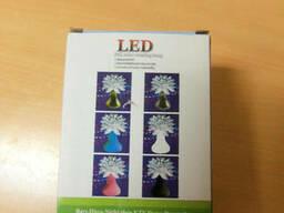 Светодиодный Шар светильник Диско LED лампа 220в RGB