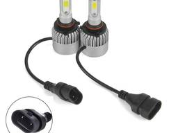 Светодиодные автомобильные LED-лампы HB4 9006 LED Headlight 6500K / 8000Lm с охлаждением